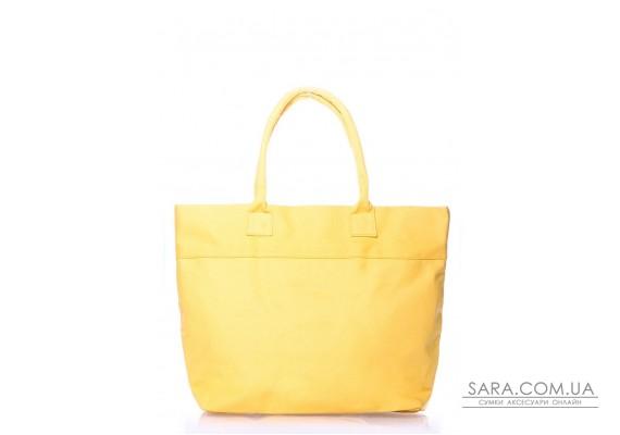 Летняя сумка POOLPARTY Paradise (paradise-oxford-yellow)