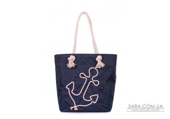 Летняя сумка с якорем POOLPARTY (anchor-oxford-blue)