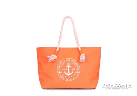 Оранжевая сумка Breeze с морским принтом (breeze-oxford-orange)