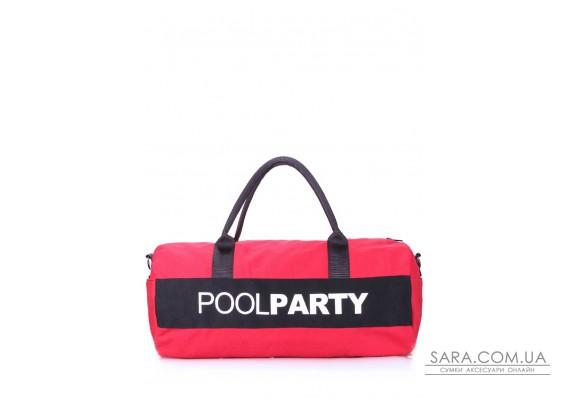 Спортивно-повседневная сумка Gymbag (gymbag-red-black)