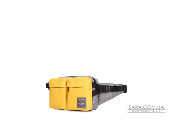 Сумка-хіппек на пояс Bumper (bumper-yellow-grey)