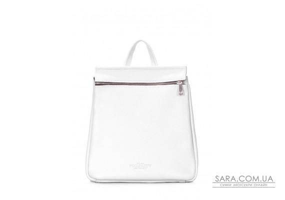 Шкіряний білий рюкзак POOLPARTY Venice (venice-leather-white)