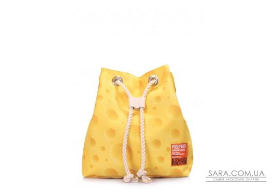Літній рюкзак з сирним принтом (pack-cheese)
