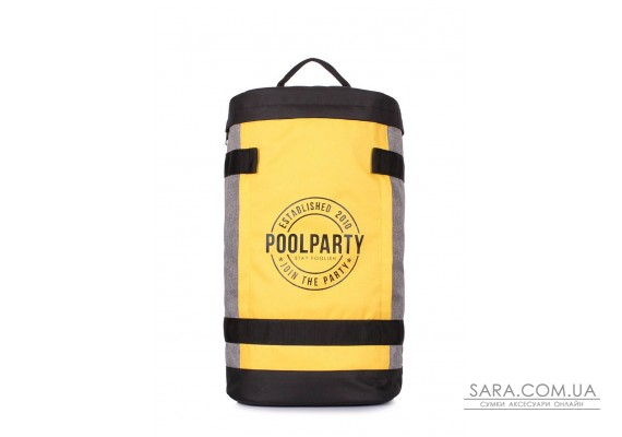 Молодіжний рюкзак Tracker з принтом (tracker-yellow-grey)