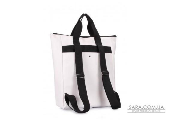Мультифункціональний рюкзак-сумка Walker (walker-pu-white)