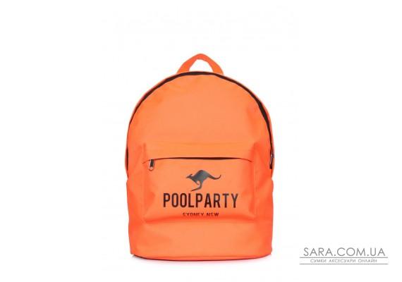 Повсякденний рюкзак POOLPARTY (backpack-oxford-orange)