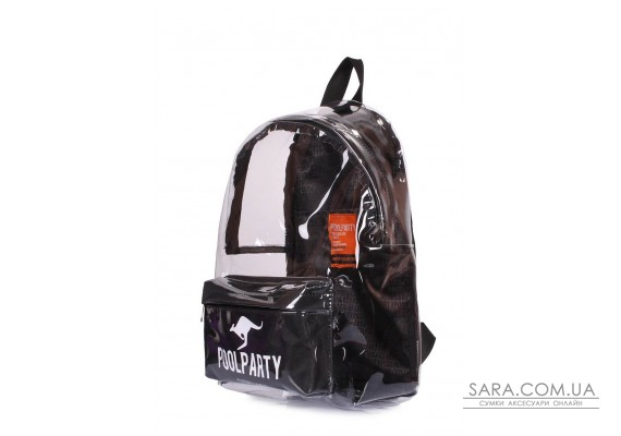 Прозорий рюкзак Plastic (bckpck-plastic-black)