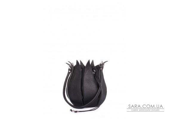 Шкіряна сумка Flower (flower-black)