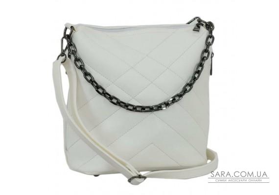 679 сумка біла Lucherino