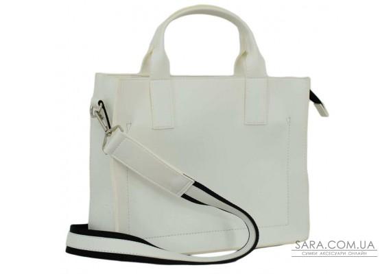 651 сумка біла Lucherino
