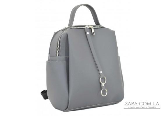 660 рюкзак сірий Lucherino