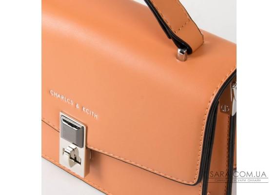 Сумка Жіноча Класична шкірзамінник FASHION 01-03 33002 orange Podium
