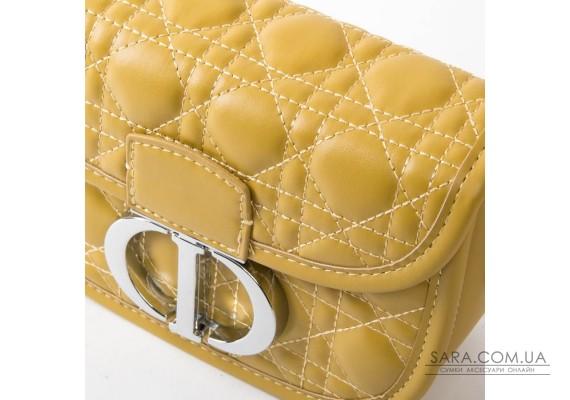 Сумка Жіноча Класична шкірзамінник FASHION 01-04 7117 yellow Podium