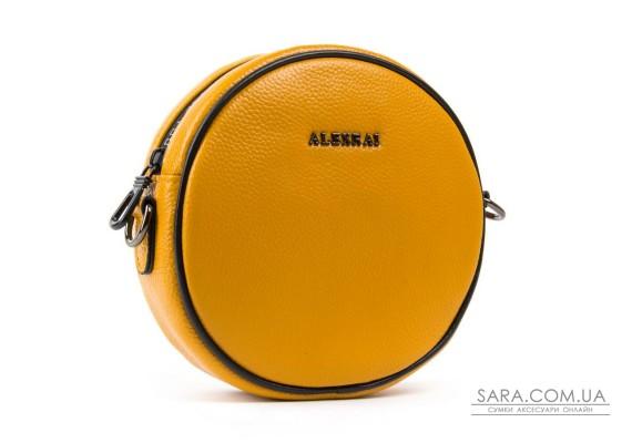 Сумка Жіноча Клатч шкіра ALEX RAI 1-02 39032-9 yellow Podium