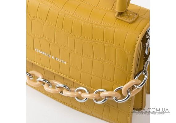 Сумка Жіноча Класична шкірзамінник FASHION 01-04 1635 yellow Podium