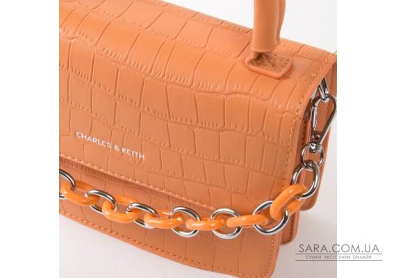 Сумка Жіноча Класична шкірзамінник FASHION 01-04 1635 orange Podium