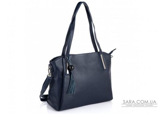 Синя жіноча сумка-шоппер Riche F-A25F-FL-89055WBL