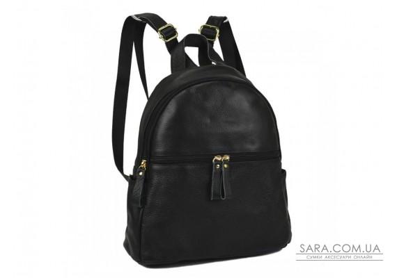 Жіночий шкіряний рюкзак чорного кольору NM20-W008A