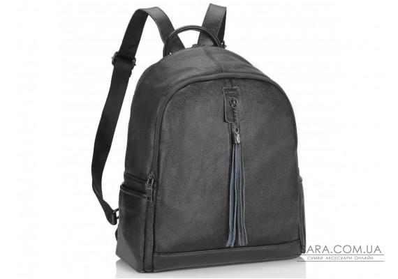 Женский рюкзак черный Olivia Leather NWBP27-6627A