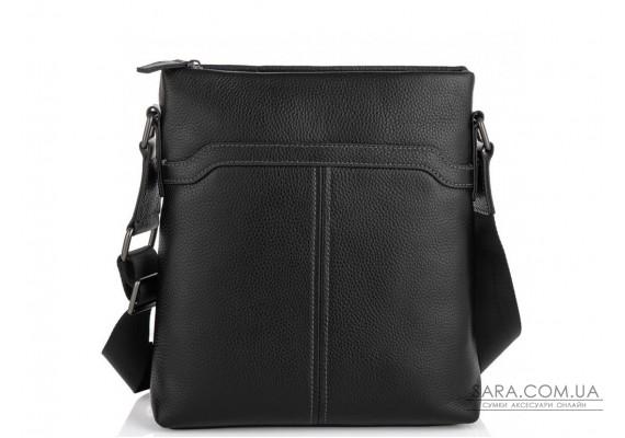 Мессенджер чорний через плече Tiding Bag SM8-8987A