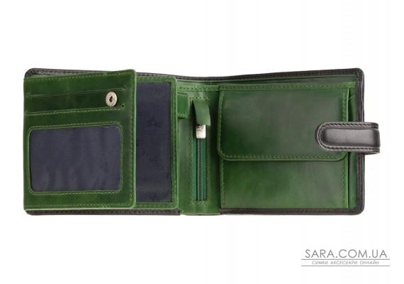 Гаманець чоловічий Visconti TR35 Atlantis c RFID (Black Green)