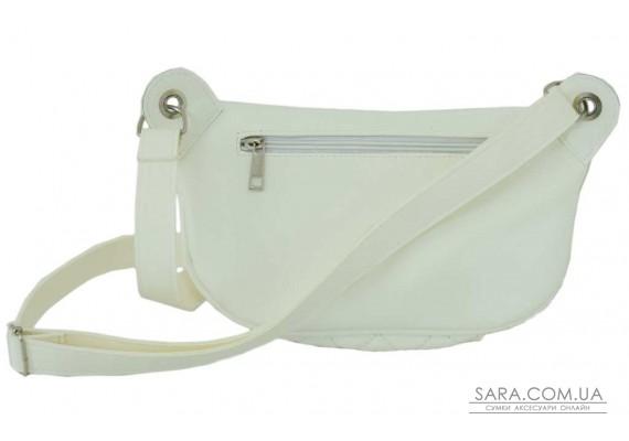 686 поясна сумка біла Lucherino