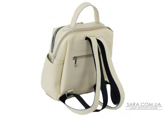 660 рюкзак кожа беж Lucherino