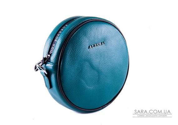 Сумка Жіноча Клатч шкіра ALEX RAI 1-02 39032-13 blue
