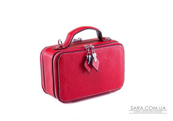 Сумка Жіноча Клатч шкіра ALEX RAI 1-02 29017-8 red