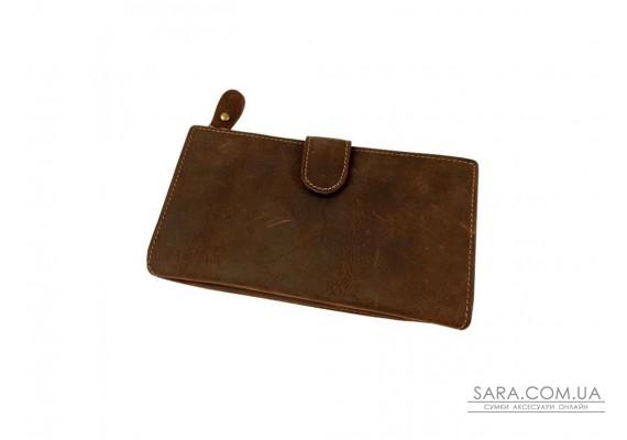 Портмоне мужское коричневое Tiding Bag t0049