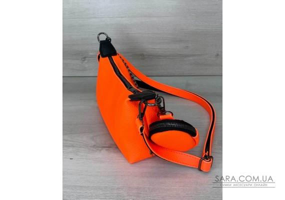 Жіноча сумка «Лойс» помаранчева WeLassie