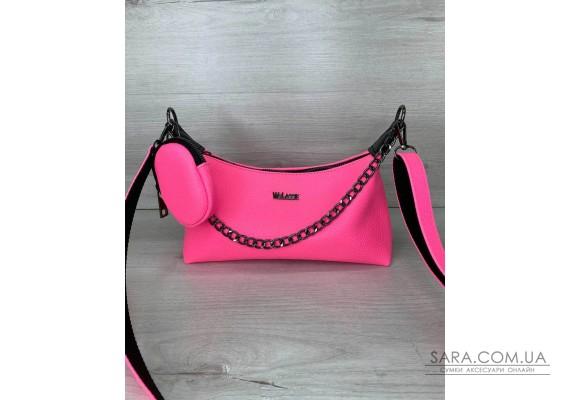 Жіноча сумка «Лойс» малинова WeLassie