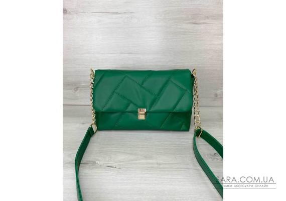 Жіноча сумка «Паркер» зелена WeLassie