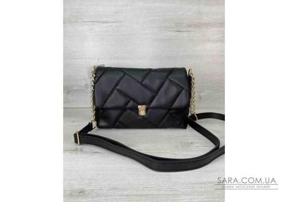 Женская сумка «Паркер» черная WeLassie