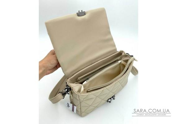 Женская сумка «Обри» кофейная WeLassie