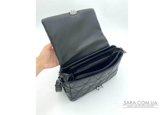 Женская сумка «Обри» черная WeLassie