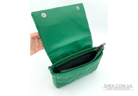 Жіноча сумка «Донна» зелена WeLassie