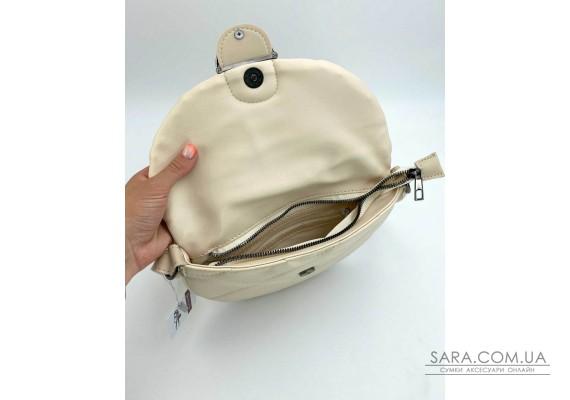 Женская сумка «Джасти» бежевая WeLassie