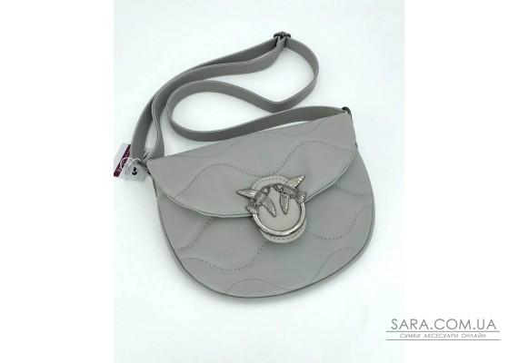 Жіноча сумка «Джаст» сіра WeLassie