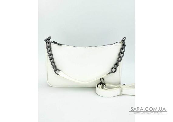 Женская сумка «Луна» белая WeLassie