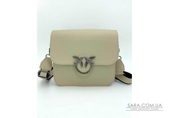 Женская сумка «Айда» бежевая WeLassie