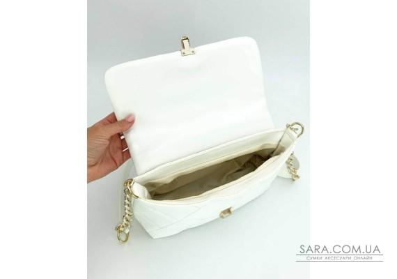 Женская сумка «Паркер» белая WeLassie