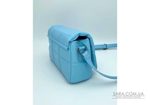Жіноча сумка «Діна» блакитна маленька WeLassie
