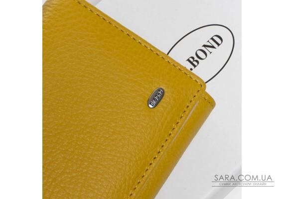 Кошелек Classic кожа DR. BOND W501-2 yellow Podium