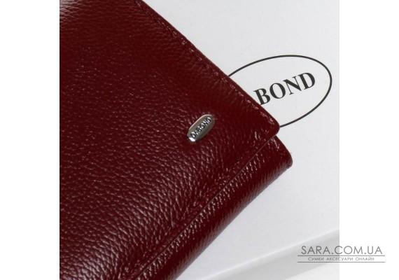 Кошелек Classic кожа DR. BOND W501-2 bordo Podium
