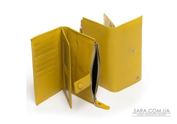 Кошелек Classic кожа DR. BOND WMB-1 yellow Podium