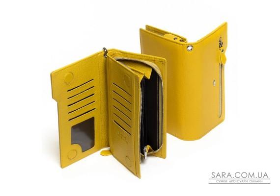 Кошелек Classic кожа DR. BOND WMB-2M yellow Podium