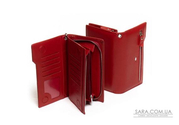 Кошелек Classic кожа DR. BOND WMB-2M red Podium
