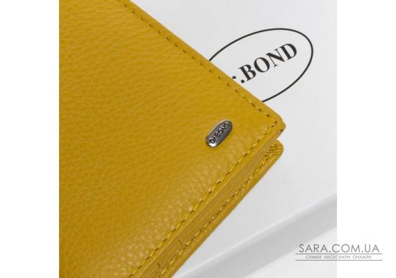 Кошелек Classic кожа DR. BOND WMB-3M yellow Podium