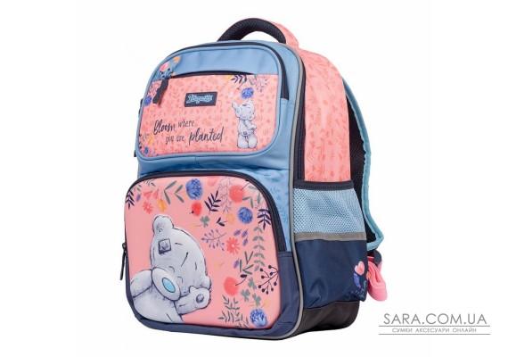 """Рюкзак шкільний 1Вересня S-105 """"MeToYou"""", рожевий/блакитний (556351)"""